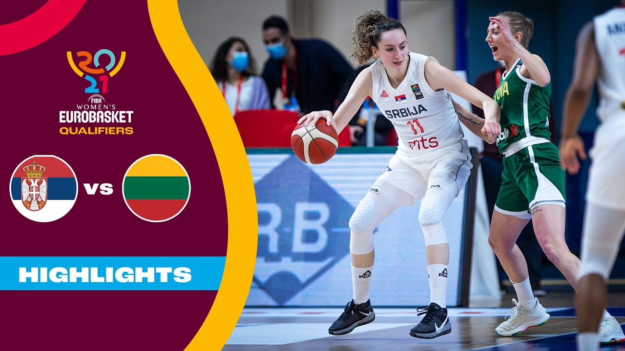 Serbia - Lithuania   Highlights