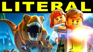 LITERAL Lego Jurassic World Trailer