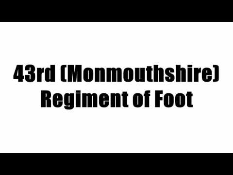 43rd (Monmouthshire) Regiment of Foot