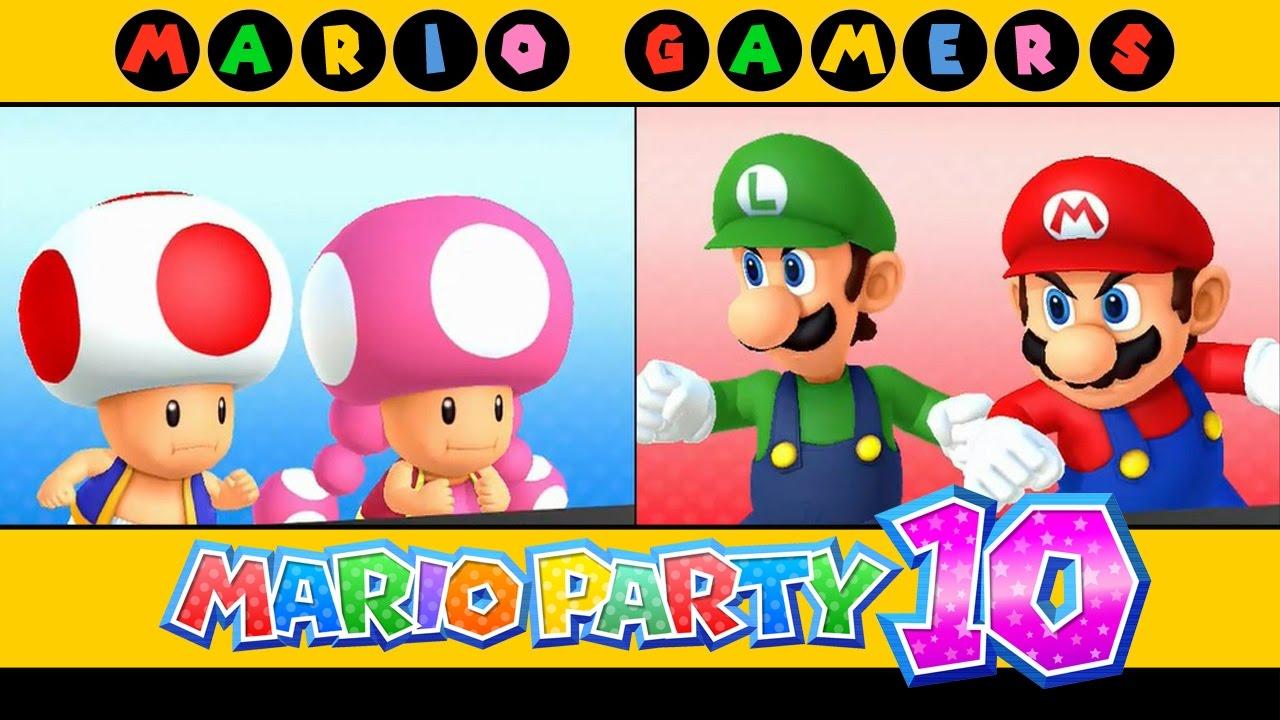 Mario Party 10 - Airship Central (Mario, Luigi, Toad ...