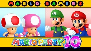 Mario Party 10 - Airship Central (Mario, Luigi, Toad & Toadette)