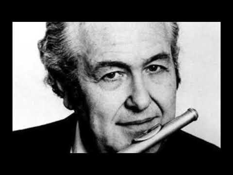 Francis Poulenc: Sonata for flute and piano - Julius Baker flute