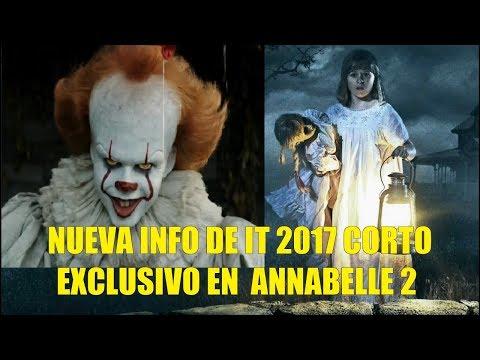 Nueva Info de IT o ESO 2017 Habrá Corto Exclusivo de IT en Annabelle 2