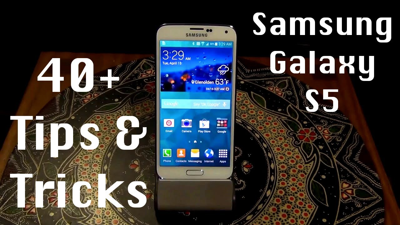 40+ Tips and Tricks for the Samsung Galaxy S5