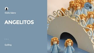 Expohobby TV - Stella Saenz - Angelitos - Quilling