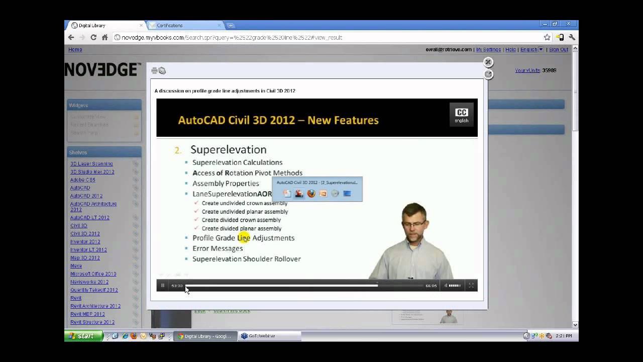 Novedge Webinar 35 Autodesk Onlineon Demand Classroom Training Certification