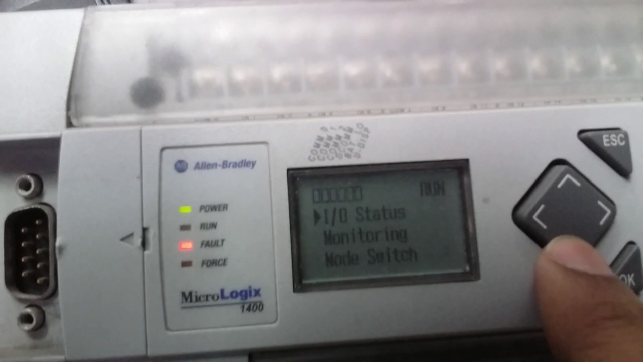 How to Download Program to ALLEN BRADLEY PLC MICROLOGIX 1400 Series? : micrologix 1400 wiring - yogabreezes.com