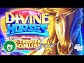 ⭐️ NEW - Divine Horses slot machine, bonus