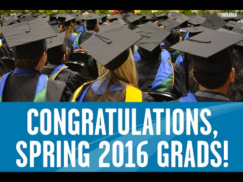 Spring 2016 Grads Giving Thanks Announcement