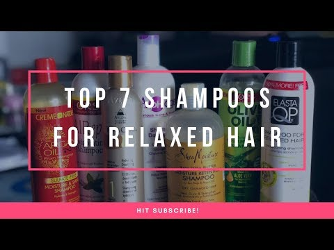 Top Seven Shampoos For Relaxed Hair | Favorite Shampoos For Hair Growth
