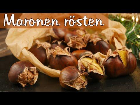 Maronen zubereiten I Maronen rösten wie vom Weihnachtsmarkt