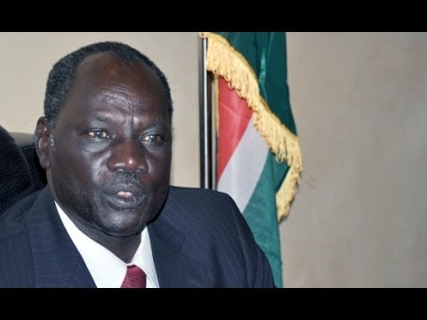 South Sudan Information Minister Michael Makuei - Interview