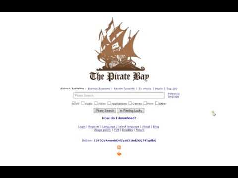 How To Register Thepiratebay.org