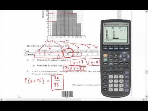 IB Math SL - May 2012 Paper 2 Key