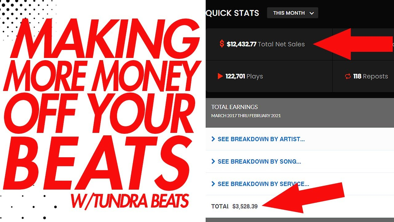 Make Money From Beats-- Not Just Selling Beats Online!