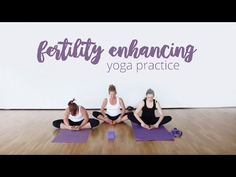 Fertility Enhancing Yoga | Home Yoga Video | Beinspired