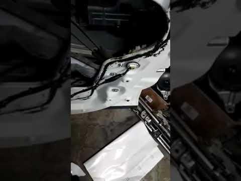 Хонда элюзион доработка салона и проводов после перекидка