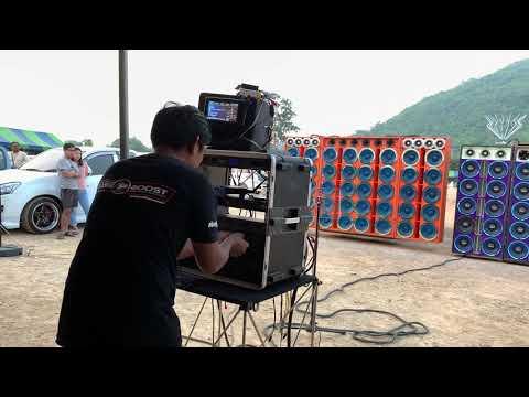 งานแข่งเครื่องเสียงรถยกดัม มิดโล 80 ดอกรวมกัน 2คัน