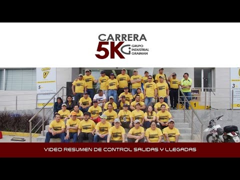 Carrera GIG 5k 2017 (Video Resumen de Control)
