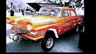George Barris 2013 car show:  The Dynotones:    Injector