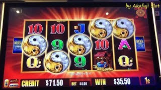 "Super Big Win★5 FROGS Slot Bet $4 ""Re-triggers !! 5 Bonus Symbols x Twice"" JUNGLE WILD, Akafujislot"