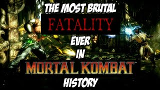 The Most Brutal Fatality Ever In Mortal Kombat History