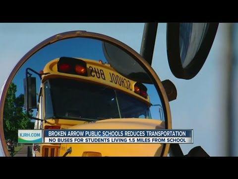 Broken Arrow Public Schools Reduces Transportation