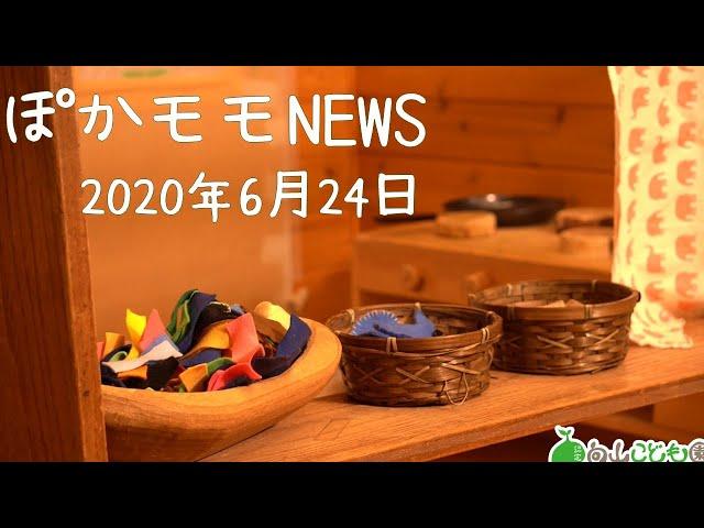 20200624 ぽかモモNEWS 室内環境紹介