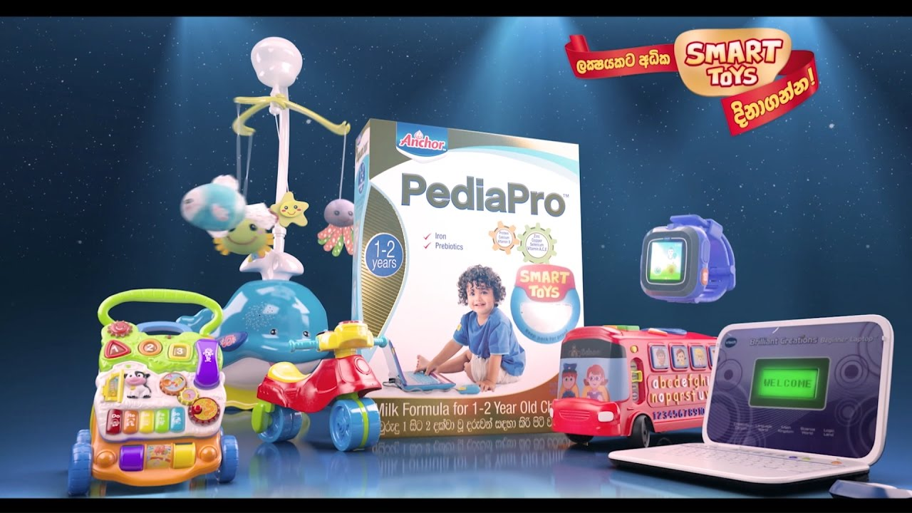 Win Smart Toys With Anchor Pediapro Youtube