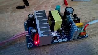 Китайський модуль живлення і перетворювач. Перший запуск.