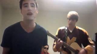 Kendall Schmidt and Logan Henderson-John Mayer Edge of Desire cover