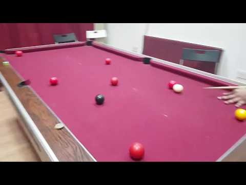 Live Pool Table Game from East London E1 UK 2018