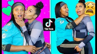 Recreating VIRAL COUPLE TikToks With My BFF (Challenge)