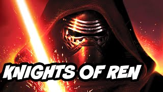 Star Wars The Force Awakens Sith vs Knights of Ren Explained