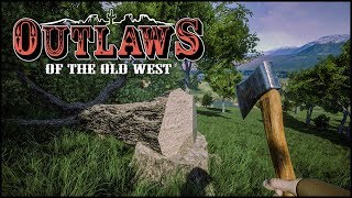 Mächtige Bäume - Outlaws of the Old West #08 [Let's Play Deutsch German]