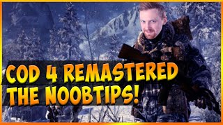 CoD 4 NOOBTIPS For REMASTERED - 106 kills Gameplay Commentary