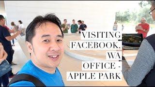Gambar cover Visiting Facebook n WA Office - Apple Park | DennySantosoTV EP79
