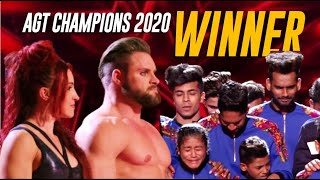 ...and The Winner Of @america's Got Talent Champions 2020 Is....