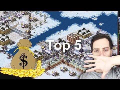 C&C Red Alert 2: How to Make Money // Top 5