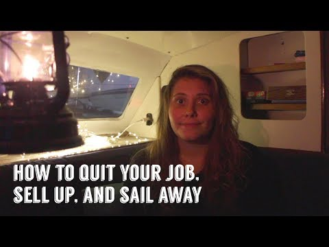 How To Become A Minimalist Liveaboard Sail Cruiser | Sailing Kittiwake - Extra