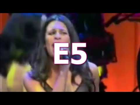Lea Michele 'Mama Who Bore Me Reprise' HIGH Notes