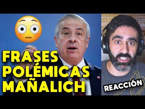LAS FRASES MÁS POLÉMICAS DE MAÑALICH: CORONAVIRUS EN CHILE | MINISTRO DE SALUD CHILENO vs COVID-19