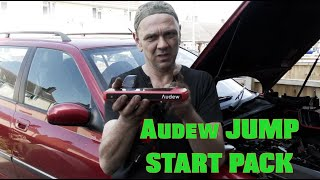 Audew 12v Jump Starter Pack - The Mighty One for Larger Petrol/ Diesel Engines.