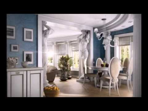 Greek interior design style - YouTube