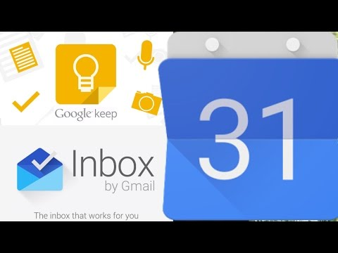 Using Google Calendar, Keep and Inbox instead of Todoist