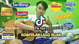 Download lagu TIKTOK KUMPULAN LAGU IKLAN SARIWANGI, DANCOW, INDOME | gitar akustik cover