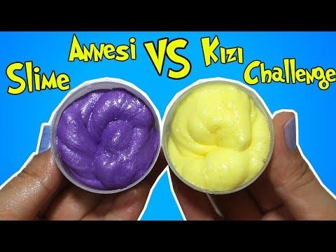 Tıraş Köpüğü Kapağında Metalik Slime Challenge!! Anne Kız Slime Kapışmasında 1. Kim? Bidünya Oyuncak