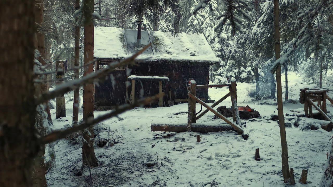 Download #017 Bartek w chatce. Spędziłem noc w lesie!