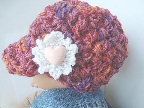 Crochet A Newsboy Hat Youtube