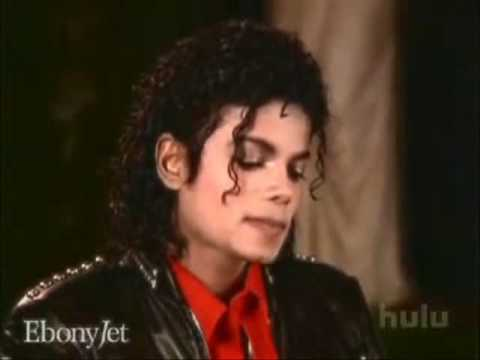Adorable MJ licking his lips - Jet interview with Michael Jackson